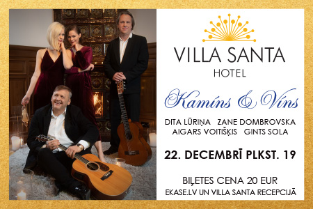 Villa Santa līdz 17.12.