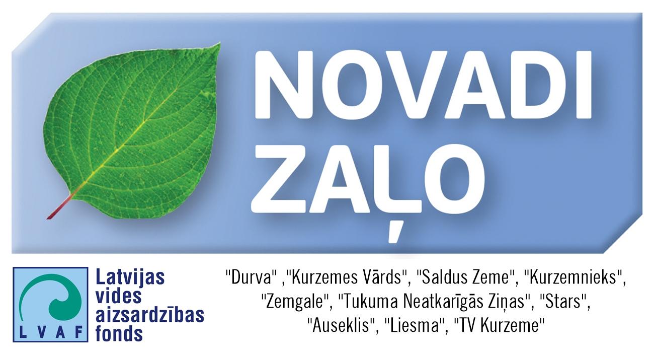 """Jaunais """"Novadi Zaļo"""" projekts"""